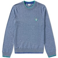Kenzo Tiger Mouline Crew Sweat Blue
