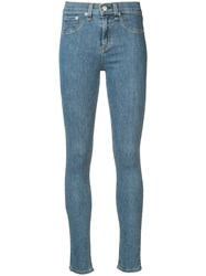 Rag And Bone Jean 10 Skinny Jeans Women Cotton Polyester Polyurethane 26 Blue