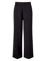 Jacques Vert Drape Crepe Fluid Trouser Black
