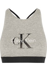 Calvin Klein Underwear Retro Stretch Cotton Soft Cup Bra Stone
