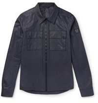 Belstaff Shawbury Slim Fit Waxed Cotton Jacket Midnight Blue