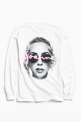 Urban Outfitters Lady Gaga Joanne Long Sleeve Tee White