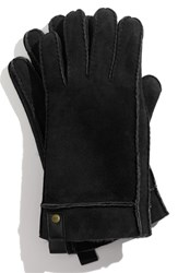 Men's Ugg Australia Genuine Shearling Gloves Black
