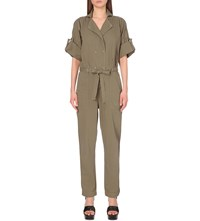 Citizens Of Humanity Sierra Tie Waist Jumpsuit Beach Dune