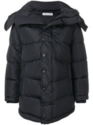 Balenciaga New Swing Puffer Coat Black