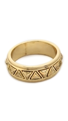 House Of Harlow 1960 Triangle Plateau Midi Ring Gold