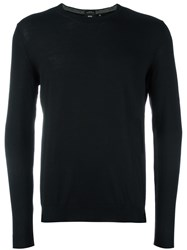 Hugo Boss Crew Neck Jumper Black