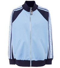 Marc Jacobs Striped Track Jacket Blue