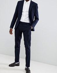 Antony Morato Slim Fit Suit Trouser In Navy