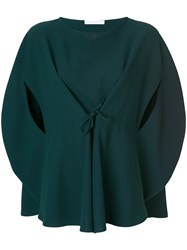 Societe Anonyme Bloody Mary Top Polyester Green