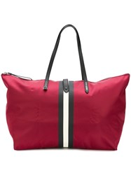 Bally The Tote Bag Red