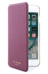 Ted Baker London Shannon Iphone 6 7 Plus Mirror Folio Case Red