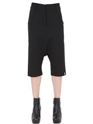 Gattacicova Cropped Viscose Blend Jersey Pants