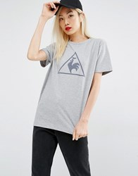 Le Coq Sportif Tshirt With Largo Logo Grey