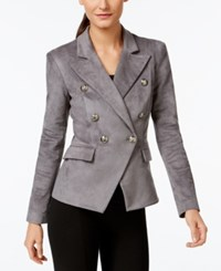 Vakko For Inc International Concepts Faux Suede Military Blazer Only At Macy's