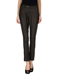 Amy Gee Casual Pants Dark Brown