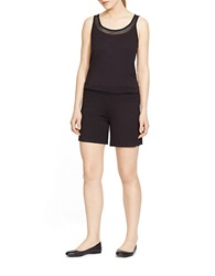 Lauren Ralph Lauren Terry Active Romper Black