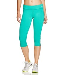 Trina Turk Recreation Cutout Leggings Teal