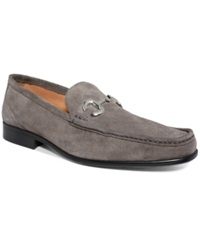 Alfani Bryant Moc Loafers Men's Shoes Charcoal