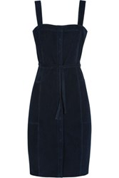 Mih Jeans M.I.H Jeanne Suede Dress Navy