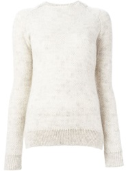 Stephan Schneider Round Neck Sweater Nude And Neutrals
