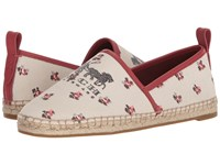 Coach Floral Bloom Espadrille Chalk Floral Print Shoes Neutral
