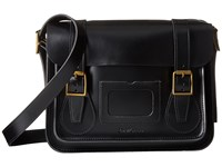 Dr. Martens 11 Leather Satchel Black Satchel Handbags