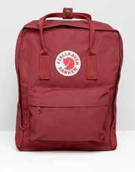 Fjall Raven Fjallraven Kanken Backpack In Red Oxblood Red