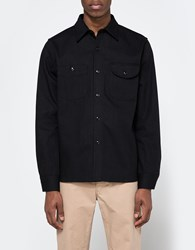 Rogue Territory Work Shirt In Stealth Black