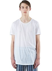 Acne Studios Ness Long Round Neck T Shirt White