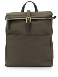 Mismo Flat Backpack Green