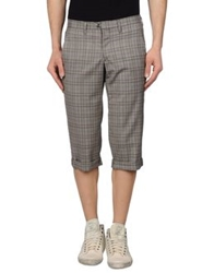 Gazzarrini 3 4 Length Shorts Grey