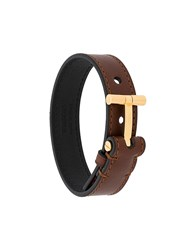 Tom Ford T Detailed Bracelet Brown
