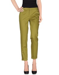 I Blues Casual Pants Military Green