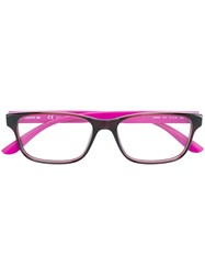 Lacoste Square Glasses Pink And Purple