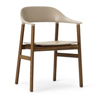 Normann Copenhagen Herit Smoked Oak Armchair Sand