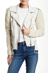 Doma Faux Shearling Convertible Jacket And Vest Beige