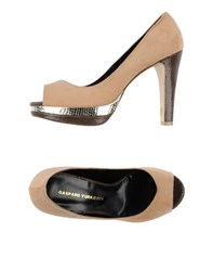 Gaspard Yurkievich Footwear Courts With Open Toe Women