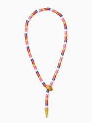 Kate Spade Spice Things Up Snake Statement Necklace Multi