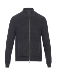 Polo Ralph Lauren Zip Up Ribbed Knit Cotton Cardigan