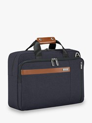 Briggs And Riley Kinzie Street 2.0 Convertible Briefcase Backpack Navy