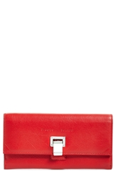 Proenza Schouler 'Courier' Leather Wallet Red