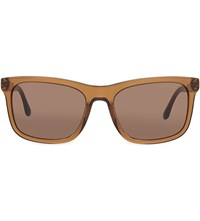 Emporio Armani Ar8066 Square Sunglasses Brown
