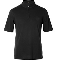 Iffley Road Sidmouth Dri Release Half Zip Running T Shirt Black