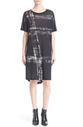 Women's Superfine 'Marquee' Print T Shirt Dress