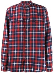 Zadig And Voltaire Check Grunge Shirt 60