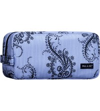 Paul And Joe Paisley Make Up Bag Blue Zip