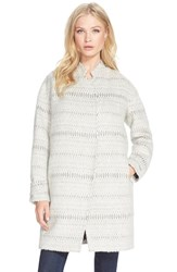 Women's Rebecca Taylor 'Icicle' Cocoon Coat