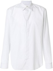 Maison Martin Margiela Striped Shirt Cotton White