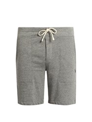 Polo Ralph Lauren Drawstring Fleece Shorts Grey